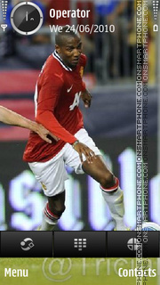 Ashley Manchester Utd tema screenshot