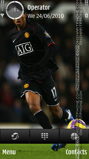 Luis Nani tema screenshot