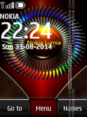 Nokia Lumia 535 Colors tema screenshot