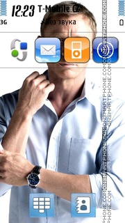 Daniel Craig 01 tema screenshot