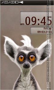 Lemur tema screenshot