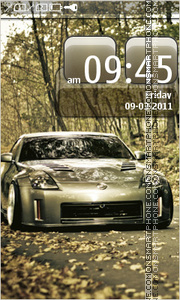 Nissan 350Z 15 tema screenshot