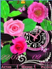 Roses tema screenshot