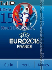 Euro 2016 tema screenshot