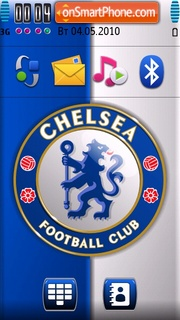 Chelsea FC 05 tema screenshot